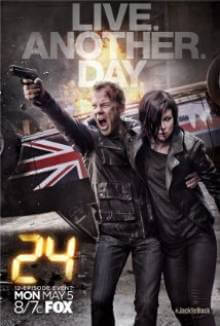 Cover der TV-Serie 24: Live Another Day