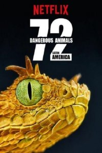 Cover 72 Dangerous Animals: Latin America, Poster