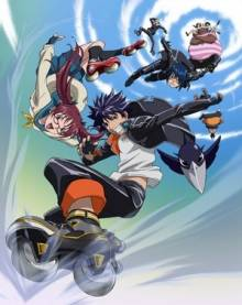 Cover der TV-Serie Air Gear