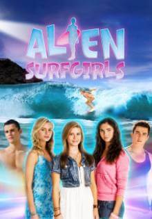 Cover Alien Surfgirls, Poster