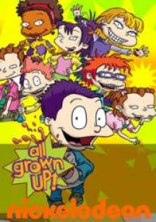 Cover der TV-Serie All Grown Up – Fast erwachsen