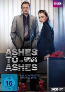 Cover der TV-Serie Ashes to Ashes - Zurück in die 80er