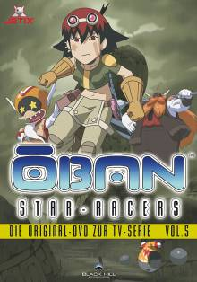 Cover der TV-Serie Ōban Star-Racers