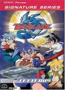 Cover der TV-Serie Beyblade