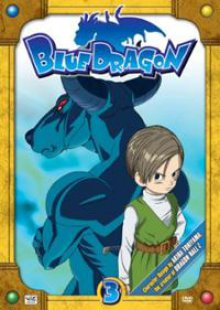 Cover der TV-Serie Blue Dragon
