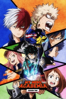 Cover von Boku no Hero Academia (Serie)