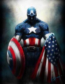 Cover der TV-Serie Captain America