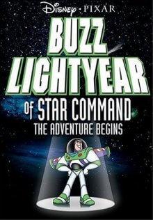 Cover von Captain Buzz Lightyear (Serie)