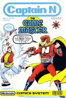 Cover der TV-Serie Captain N: The Game Master
