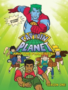 Cover der TV-Serie Captain Planet