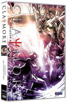 Cover der TV-Serie Claymore