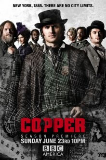 Cover der TV-Serie Copper – Justice is brutal