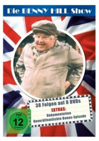 Cover der TV-Serie Die Benny Hill Show