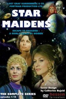 Cover von Die Mädchen aus dem Weltraum (Serie)