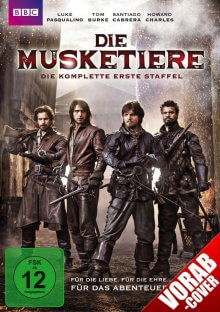 Cover der TV-Serie Die Musketiere