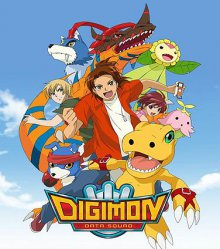 Cover der TV-Serie Digimon Data Squad