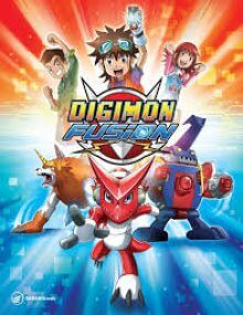 Cover der TV-Serie Digimon Fusion
