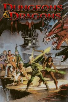 Cover der TV-Serie Dungeons & Dragons