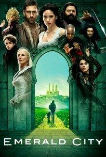 Emerald City Serien Cover