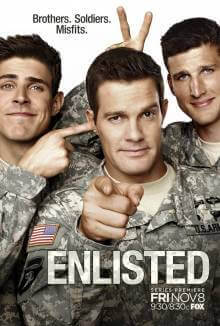 Cover der TV-Serie Enlisted