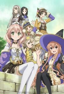 Cover von Escha & Logy no Atelier: Tasogare no Sora no Renkinjutsushi (Serie)