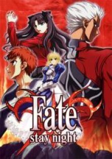Cover von Fate/stay night (Serie)