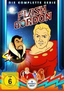 Cover der TV-Serie Flash Gordon (Zeichentrick)
