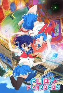 Flip Flappers Serien Cover