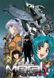 Cover der TV-Serie Full Metal Panic!