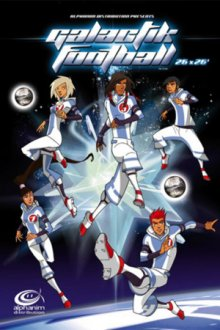 Cover der TV-Serie Galactik Football