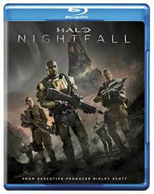 Cover der TV-Serie Halo: Nightfall