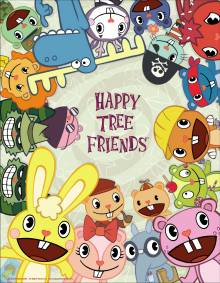 Cover der TV-Serie Happy Tree Friends