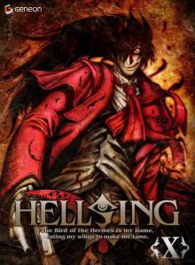 Cover der TV-Serie Hellsing Ultimate