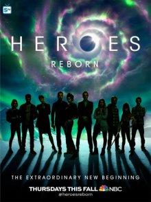 Cover von Heroes Reborn (Serie)