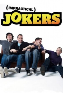 Impractical Jokers – Die Lachflasher! Serien Cover