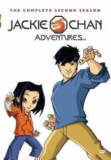 Cover der TV-Serie Jackie Chan Adventures