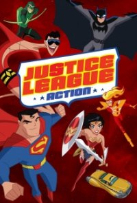 Justice League Action Serien Cover
