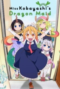 Cover der TV-Serie Kobayashi-san Chi no Maid Dragon