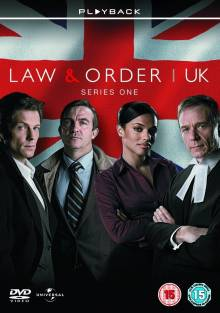Cover der TV-Serie Law & Order: UK