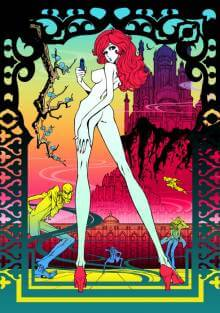 Cover der TV-Serie Lupin the Third The Woman Called Fujiko Mine