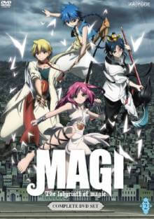 Cover der TV-Serie Magi - The Labyrinth of Magic