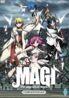 Cover von Magi - The Labyrinth of Magic (Serie)