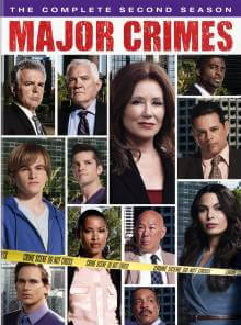 Cover der TV-Serie Major Crimes