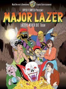 Cover der TV-Serie Major Lazer