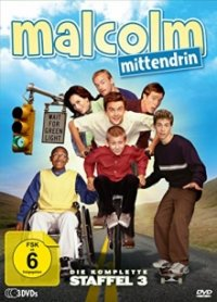 Cover der TV-Serie Malcolm Mittendrin