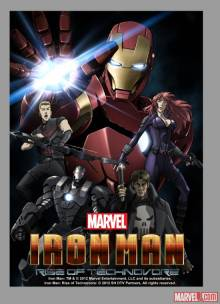 Cover der TV-Serie Marvel Anime: Iron Man
