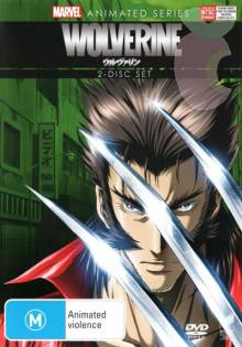 Cover der TV-Serie Marvel Anime: Wolverine