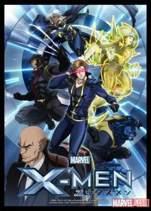 Cover der TV-Serie Marvel Anime: X-Men