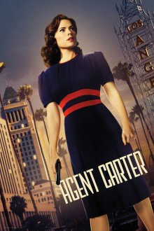 Cover der TV-Serie Marvel's Agent Carter