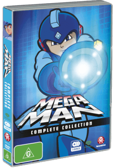 Cover der TV-Serie Mega Man